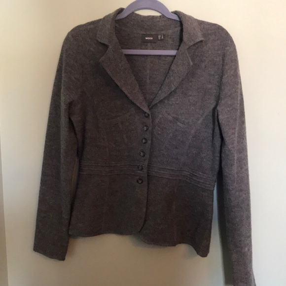 Mexx Grey Wool Blazer